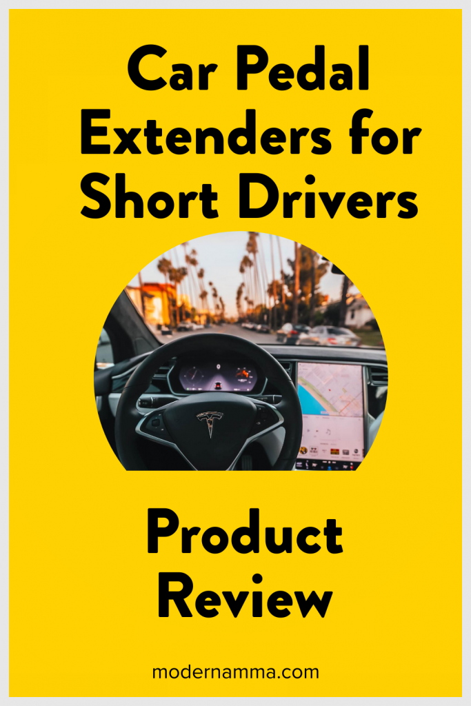 Product Review- Car Pedal Extenders for short drivers